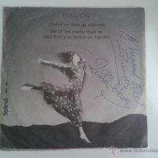 Discos de vinilo: JOSE SOLÁ - LA NOCHE DE LOS CIEN PÁJAROS / EVASIÓN 1972 SPIRAL CINEMATIC LIBRARY KILLER DABADA RARO!. Lote 40670084