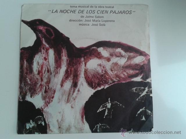 Discos de vinilo: Jose Solá - La Noche De Los Cien Pájaros / Evasión 1972 SPIRAL Cinematic Library Killer Dabada RARO! - Foto 2 - 40670084