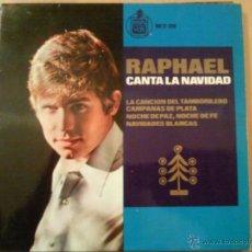 Discos de vinilo: RAPHAEL CANTA A LA NAVIDAD EP. Lote 40676182