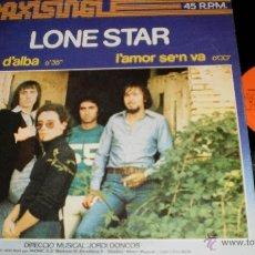 Discos de vinilo: LONE STAR MAXI PUNTA D'ALBA ESPAÑA 1977 SUPERAREZA. Lote 40677460