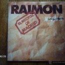 Discos de vinilo: RAIMON - EL RECITAL DE MADRID . Lote 40678757