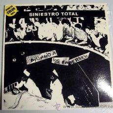 Disques de vinyle: SINIESTRO TOTAL - AYUDANDO A LOS ENFERMOS - DRO - MUNSTER RECORDS - VINILO BLANCO. Lote 192198503