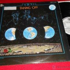 Discos de vinilo: HARLOW TAKING OFF LP 1980 CARNABY PROMO EDICION ESPAÑOLA SPAIN DISCO FUNK. Lote 40680564