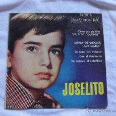 Discos de vinilo: JOSELITO - LLENA DE GRACIA 1962 EDICION FRANCESA. Lote 40682805