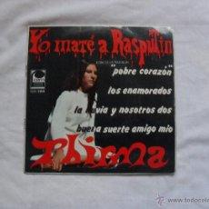 Discos de vinilo: THIRMA - YO MATE A RASPUTIN 1967. Lote 40683472