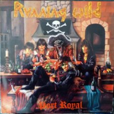 Discos de vinilo: RUMING WILD. PORT ROYAL. NOISE INTERNATIONAL, GERMANY 1988 LP (CONTIENE ENCARTE). Lote 40684115