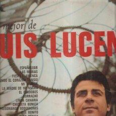 Discos de vinilo: LUIS LUCENA. Lote 40684879