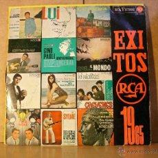 Discos de vinilo: LOS CHEYENES / GINO PAOLI / SYLVIE VARTAN Y MAS - EXITOS RCA 1965 - RCALPM-10302 - 1965. Lote 40685899