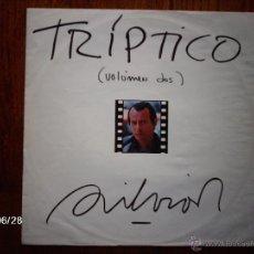 Discos de vinilo: SILVIO RODRIGUEZ - TRIPTICO VOLUMEN DOS. Lote 40686133