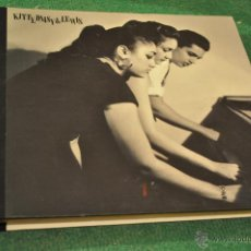 Discos de vinilo: KITTY DAISY & LEWIS (5 X 10 PULGADAS) VINILOS A 78 RPM , LUXE EDITION . Lote 40687212