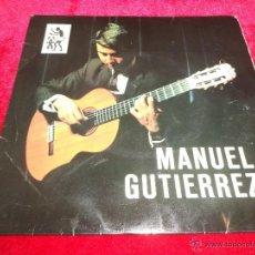 Discos de vinilo: MANUEL GUTIERREZ (MÚSICO CANARIO)...EP-DEL SELLO TAM TAM DE 1968..!ESCASÍSIMO !. Lote 40695366