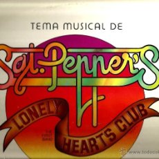 Discos de vinilo: LP THE FIRST BAND : SGT. PEPPERS LONELY HEARTS CLUB ( THE BEATLES ) . Lote 40696126