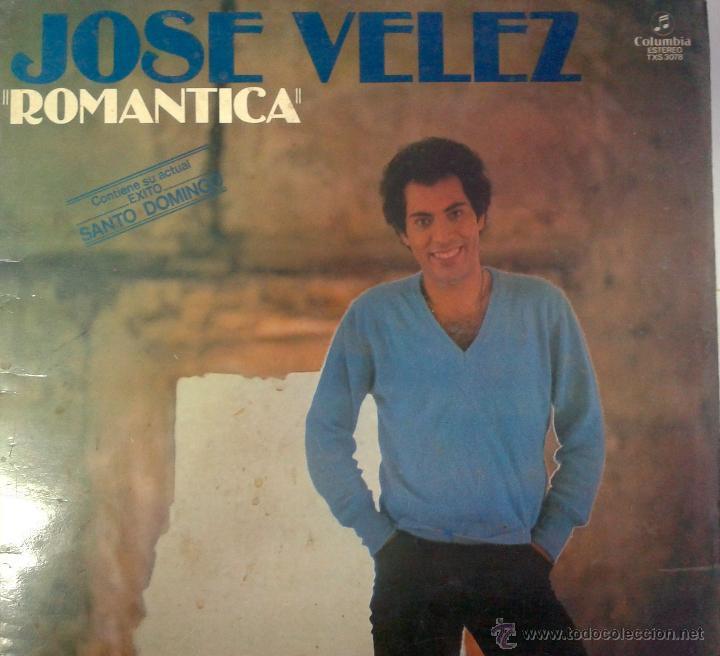 MAGNIFICO LP DE JOSE VELEZ DEL AÑO 1977 ,CON ROMANTICA, SI TU FUERAS MIA. ETC ( FIRMADO Y DEDICADO) (Música - Discos de Vinilo - Maxi Singles - Cantautores Españoles)