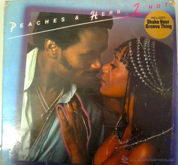 Discos de vinilo: LP DE PEACHERS & HERS 2 HOT- SHAKE YOUR- GROOVE THING- DEL AÑO 1978 - Foto 1 - 40696900