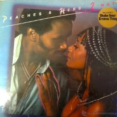 Discos de vinilo: LP DE PEACHERS & HERS 2 HOT- SHAKE YOUR- GROOVE THING- DEL AÑO 1978. Lote 40696900
