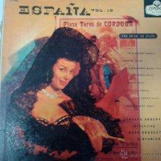 Discos de vinilo: MAGNIFICO LP DE ESPAÑA VOLUMEN 10- ATAULFO ARGENTA-( GRAN ORQUESTA SINFONICA ) MADE INGLATERRA-. Lote 40697022