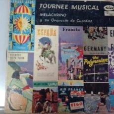 Discos de vinilo: MAGNIFICO LP DE TOURNEE MUSICAL CON GEORGE MELACHRINO Y SU ORQUESTA DE CUERDAS-( EDITADO EN MEXICO-). Lote 40697160