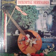 Discos de vinilo: MAGNIFICO LP DE INMORTAL SERENADES-CON FRANK CHACKSFIELD Y SU ORQUETA-( EDITADO EN LONDRES ). Lote 40697280
