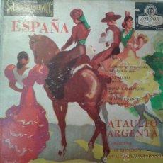 Discos de vinilo: MAGNIFICO LP DEDICADO A ESPAÑA POR ATAULFO ARGENTA Y SU ORQUESTA- EDITADO EN LONDRES -. Lote 40697641