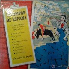 Discos de vinilo: MAGNIFICO LP -ESTAMPAS DE ESPAÑA-GRAN ORQUESTA ESPAÑOLA CON LA DIRECCION DE GOMEZ DE ARRIBA-. Lote 40697899