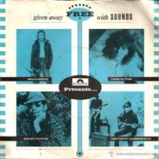 Discos de vinilo: EP THE VELVET UNDERGROUND + CHRIS SUTTON + SMILEY CULTURE + BRIAN SPENCE . Lote 40702518