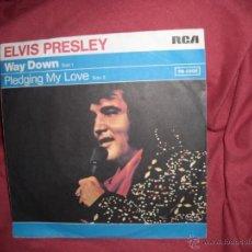 Discos de vinilo: ELVIS PRESLEY SINGLE RCA PB 0998 1977 GERMANY. Lote 40703103