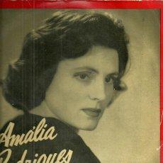 Discos de vinilo: AMALIA RODRIGUES 10´ (25 CTMS.) DEL SELLO LA VOZ DE SU AMO AÑO 1958. Lote 40708341