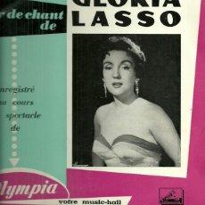 Discos de vinilo: GLORIA LASSO EN EL OLYMPIA 10´ (25 CTMS.) DEL SELLO LA VOZ DE SU AMO AÑO 1958 EDITADO EN FRANCIA. Lote 40708381