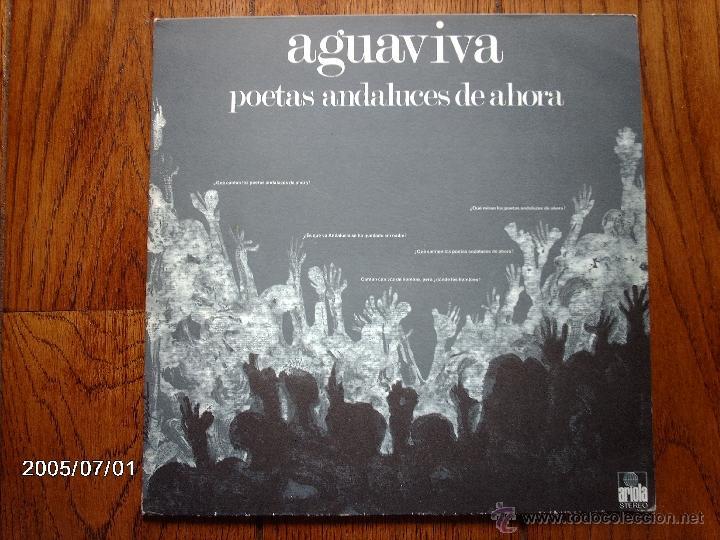 AGUAVIVA - POETAS ANDALUCES DE AHORA (Música - Discos - LP Vinilo - Grupos Españoles de los 70 y 80)