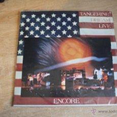 Discos de vinilo: TANGERINE DREAM ,DOBLE LP DREAM LIVE ENCORE. Lote 40713219