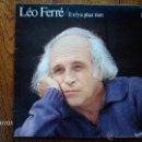 Discos de vinilo: LEO FERRE - VOL. 12 - IL N´Y A PLUS RIEN . Lote 40713398