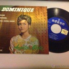 Discos de vinilo: ANGÉLICA MARÍA. DOMINIQUE. EP. Lote 40713686
