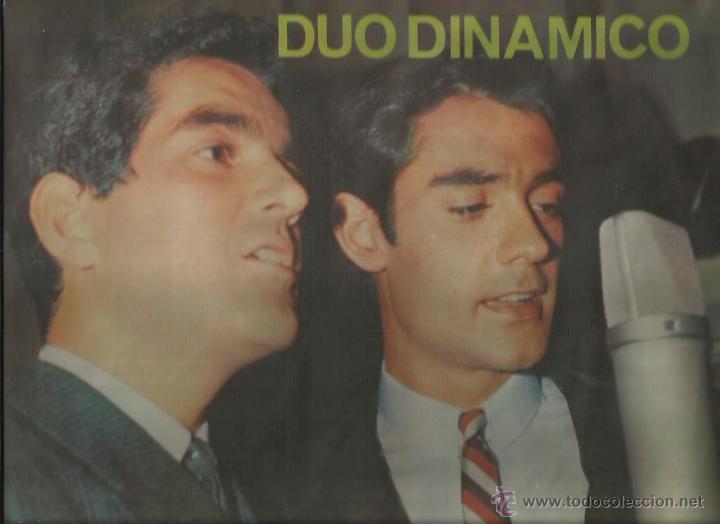 DUO DINAMICO LP SELLO LA VOZ DE SU AMO EDITADO EN CHILE (Música - Discos - LP Vinilo - Grupos Españoles 50 y 60)