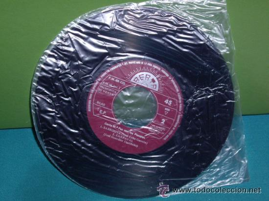Discos de vinilo: piccolos / HOY ES FIESTA - SABROSITA - EL PANTALON - CARNAVAL !! RARO EP 1972 , EXC - Foto 2 - 40719293