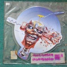 Discos de vinilo: IRON MAIDEN - CAN I PLAY WITH MADNESS (EDICIÓN LIMITADA PICTURE DISC). Lote 40725353