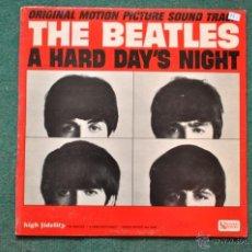Discos de vinilo: THE BEATLES - A HARD DAY'S NIGHT (MONO). Lote 40726053