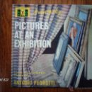Discos de vinilo: MUSSORYSKY - PICTURES AT ON EXHIBITION - CZECH PHILARMONIC ORCHESTRA - DIRECTOR ANTONIO PEDROTTI. Lote 40726566