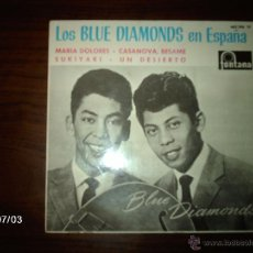 Discos de vinilo: LOS BLUE DIAMONDS EN ESPAÑA - MARIA DOLORES + 3. Lote 40726717