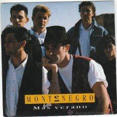 Discos de vinilo: MONTENEGRO - MAS VERANO. SINGLE DE EPIC DE 1990 PROMO. Lote 40730778
