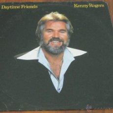 Discos de vinilo: KENNY ROGERS - DAYTIME FRIENDS - LP - UAR 1977 USA - VINILO N MINT. Lote 40731334