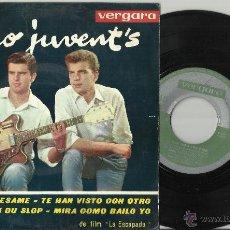 Discos de vinilo: DUO JUVENT'S EP CASANOVA BESAME ESPAÑA 1963. Lote 40731629