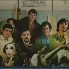Discos de vinilo: LOS PASOS LP SELLO HISPAVOX AÑO 1978. Lote 40732625