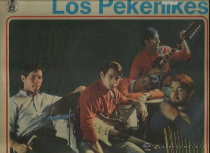 LOS PEKENIKES LP SELLO HISPAVOX EDITADO EN MEXICO (Música - Discos - LP Vinilo - Grupos Españoles 50 y 60)