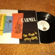 Discos de vinilo: CARMEL - THE DRUM IS EVERYTHING (LP, ALBUM) . Lote 40732720