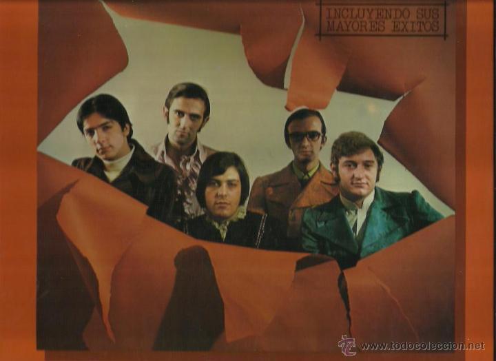 LOS MITOS LP SELLO HISPAVOX AÑO 1978 (Música - Discos - LP Vinilo - Grupos Españoles 50 y 60)