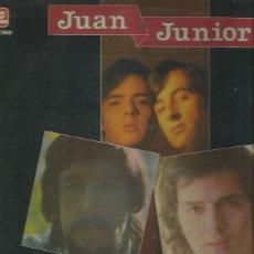 Discos de vinilo: JUAN Y JUNIOR LP SELLO ZAFIRO AÑO AÑO 1984. Lote 40732944
