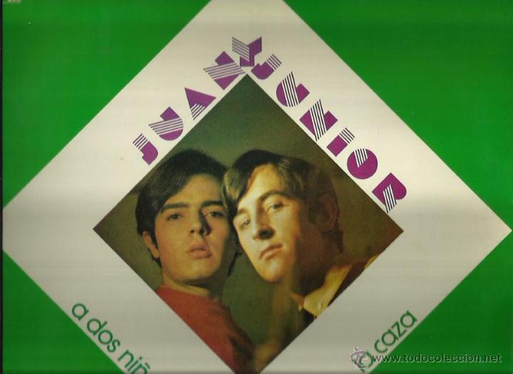 JUAN Y JUNIOR LP SELLO CAUDAL AÑO 1976 (Música - Discos - LP Vinilo - Grupos Españoles 50 y 60)