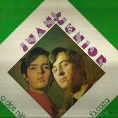 Discos de vinilo: JUAN Y JUNIOR LP SELLO CAUDAL AÑO 1976. Lote 40732979
