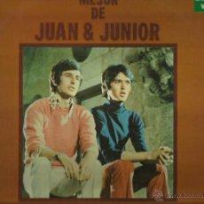 Discos de vinilo: JUAN Y JUNIOR LP SELLO ZAFIRO AÑO 1972. Lote 40732991