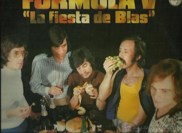 FORMULA V LP SELLO PHILIPS AÑO 1974 (Música - Discos - LP Vinilo - Grupos Españoles 50 y 60)